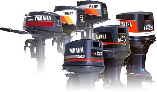 History of yamaha outboards crowley marine for Yamaha 25hp 2 stroke outboard