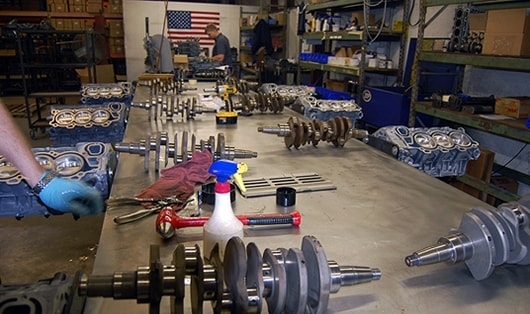 Sterndrive build process