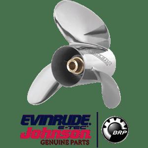 Guia de hélices Johnson/Evinrude e OMC