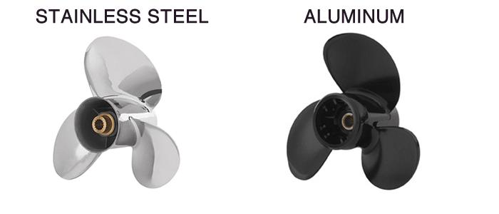 Stainless Prop vs Aluminum Prop