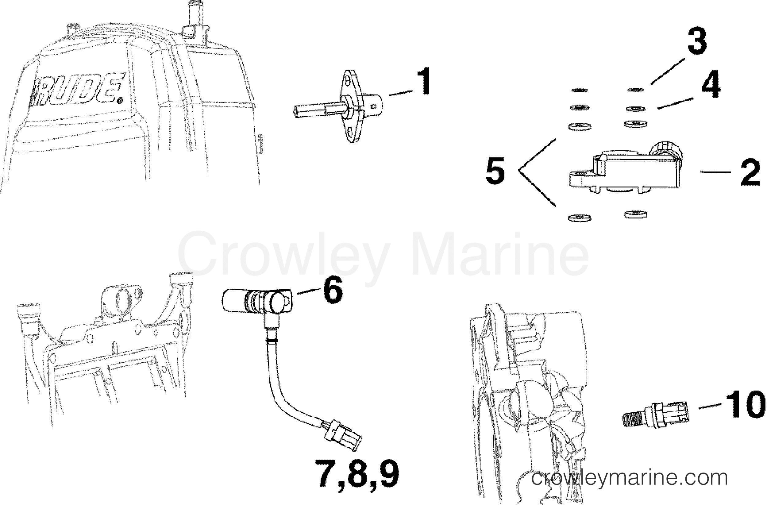Sensors - Af Evinrude Outboards 90