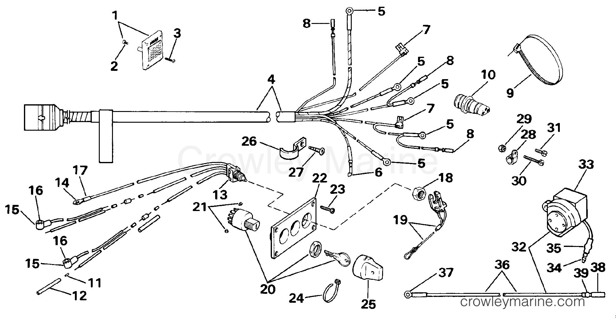 wiring kit - dual engine