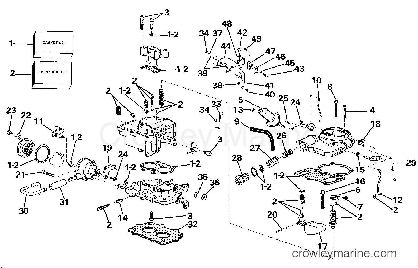 carburetor group - 2v
