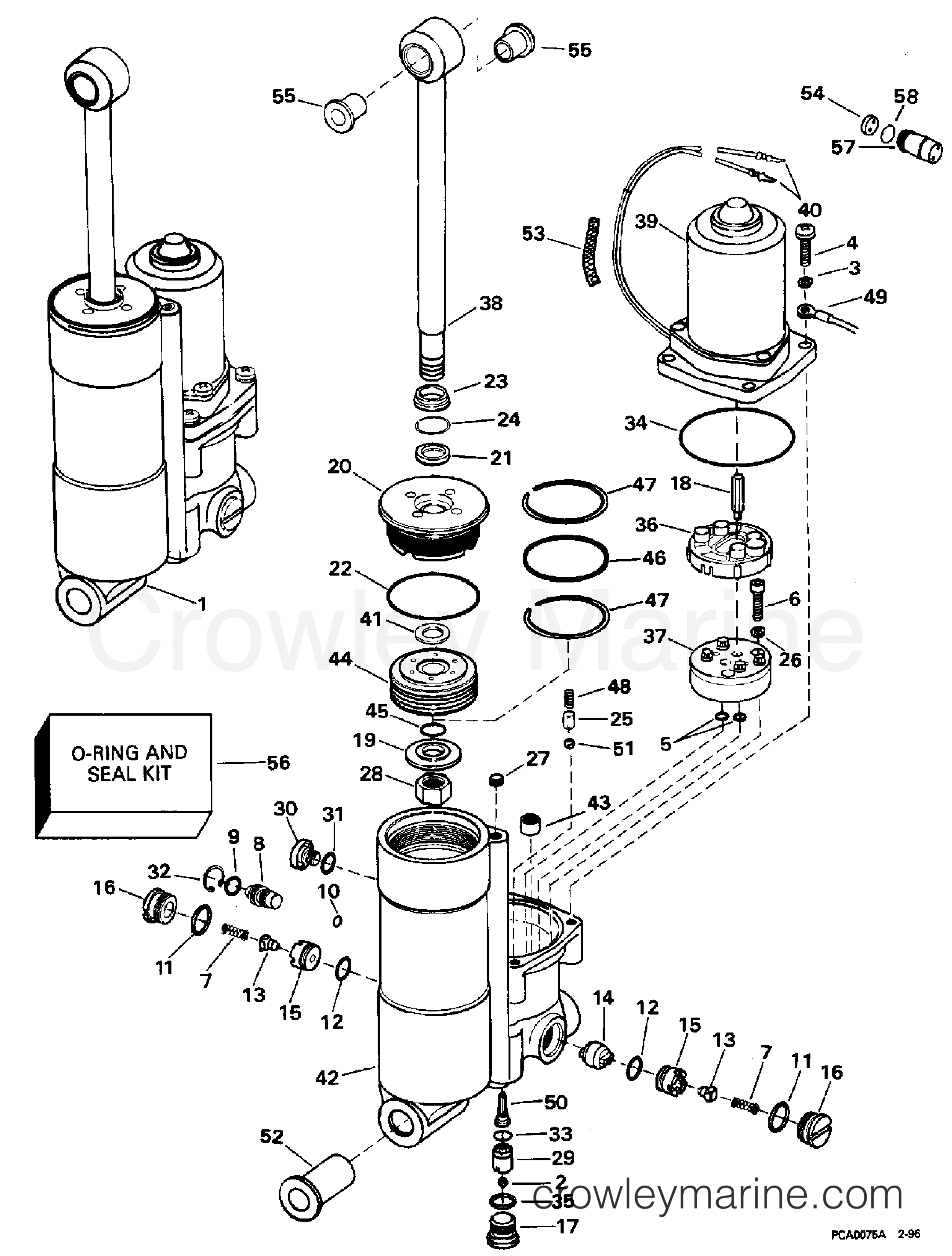 Johnson 9 Wiring Diagram And Schematics Yamaha 1996 Evinrude Images Gallery