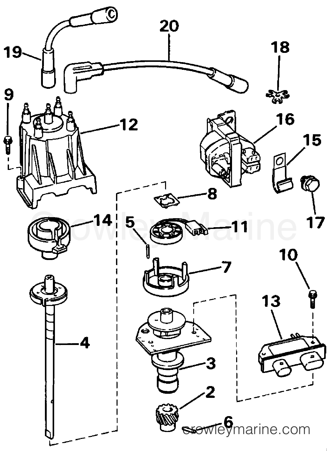 93 Omc Wiring Diagram Schematics Inboard Outboard Diagrams Distributor Ignition Coil 1993 Stern Drive 3 302bmrjvb Sailboat Electrical