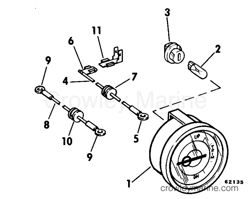 Trim Position Indicator Gauge Kit 55