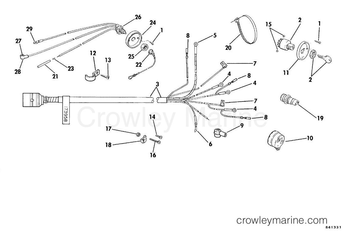 Omc Sea Drive Wiring Diagram | Wiring Diagram  L Omc Wiring Harness on omc inboard outboard wiring diagrams, omc gauges, omc fuel tank, omc cobra outdrive, omc voltage regulator, omc control box, omc cobra parts diagram, omc neutral safety switch, omc remote control, omc oil cooler,