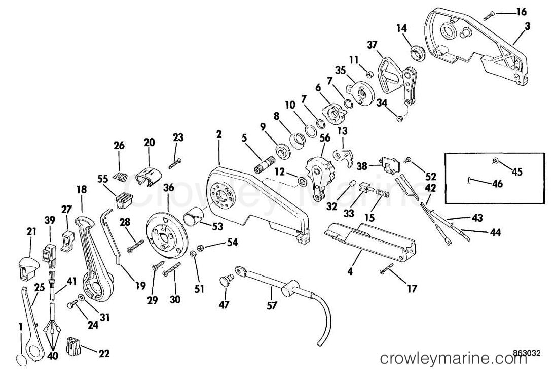 crowley marine omc parts