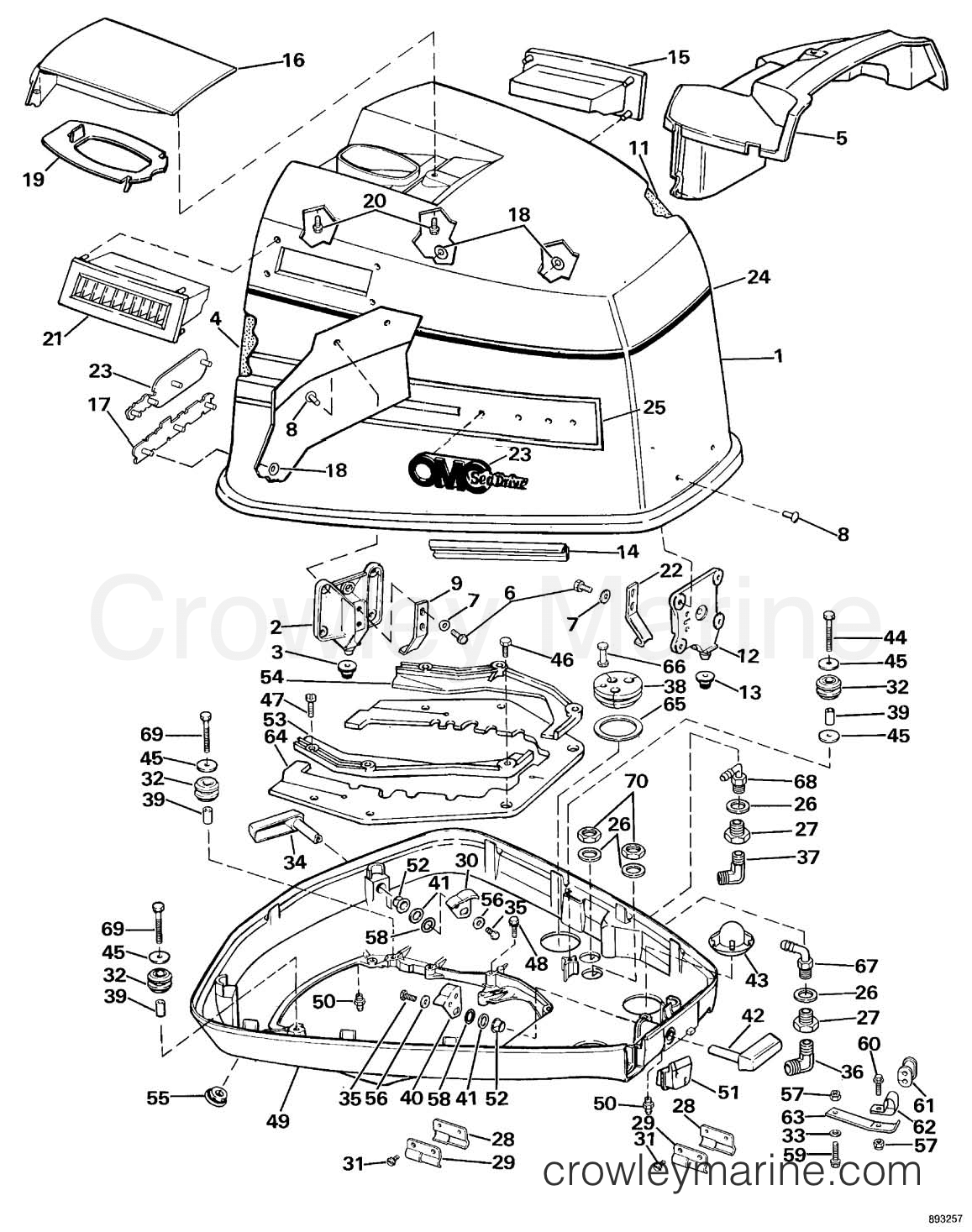 Omc 350 Inboard Wiring Diagram Schematic Diagrams Outboard Sea Drive V4 Engine Library Of U2022 Steering