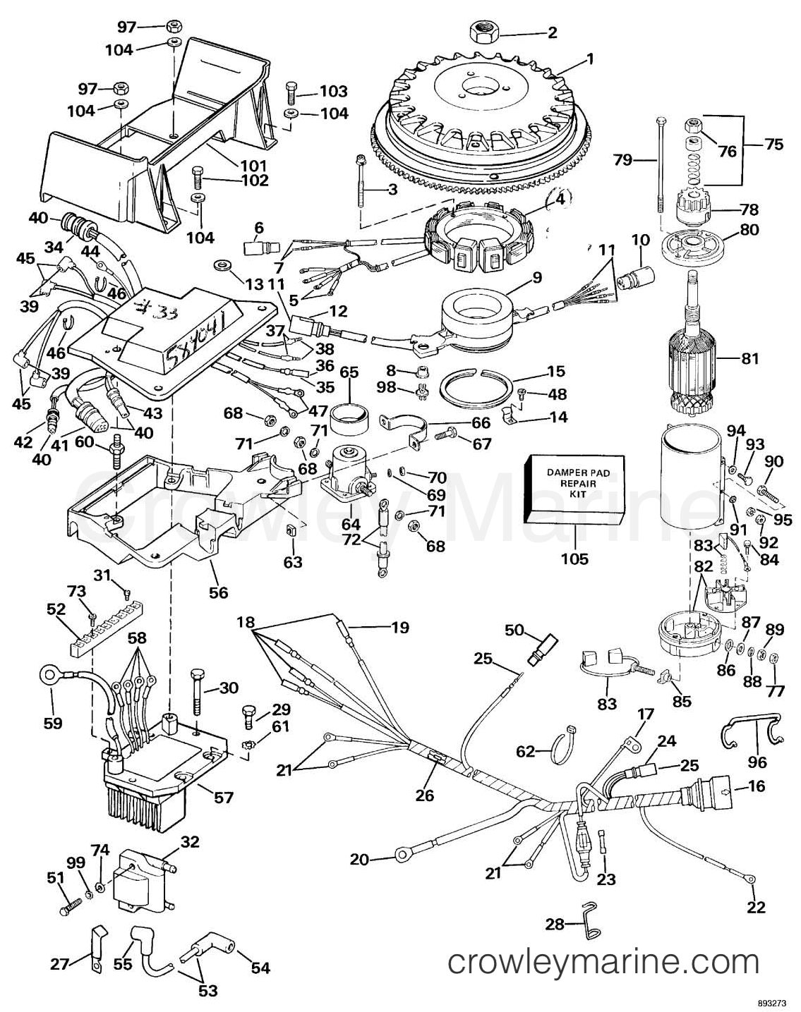 Omc Sea Drive Wiring Diagram Diagrams 1989 Ignition System Starter Motor 2 0l Rh Crowleymarine Com Mercury Switch 30