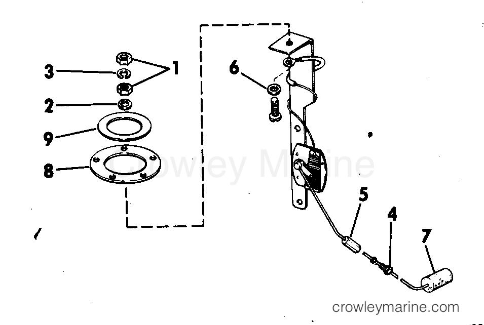 1978 Rigging Parts Accessories - Fuel System - FUEL LEVEL SENDING UNIT KIT