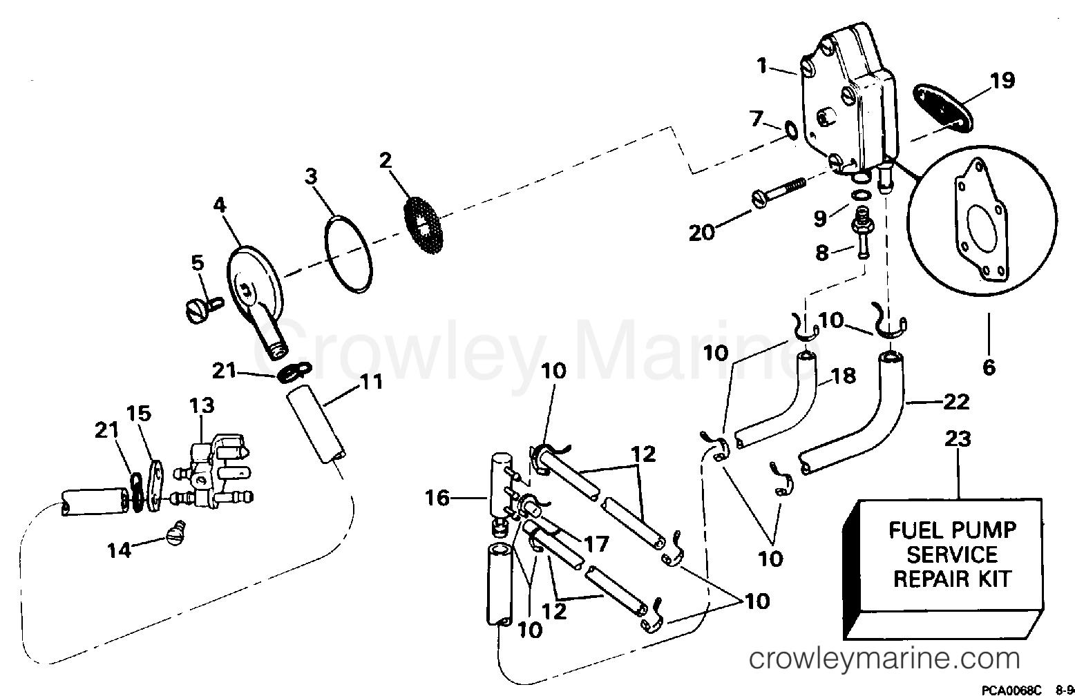 fuel pump  u0026 filter
