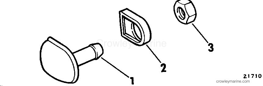 1979 Rigging Parts Accessories - Fuel System - FUEL TANK VENT KIT