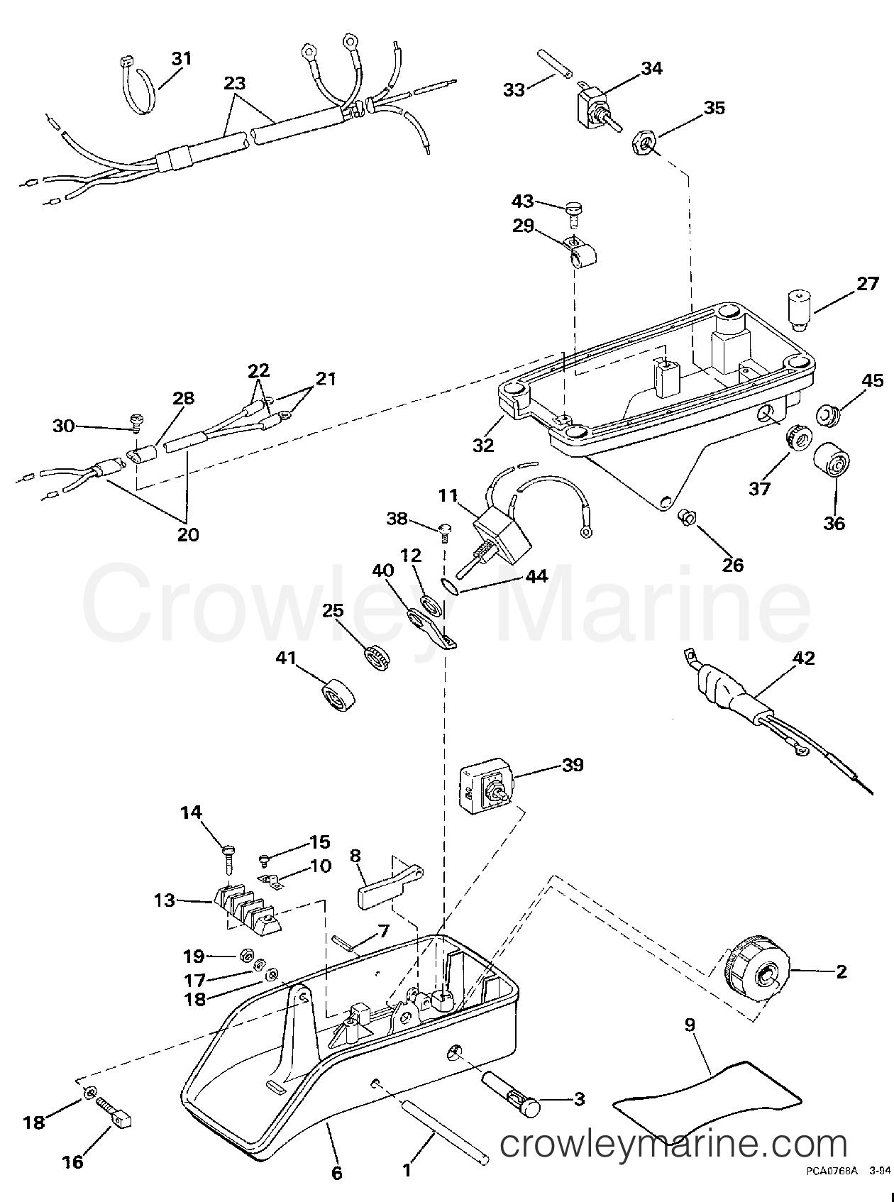 1997 Electric Motors 24 Volt - BFX4TPV - PEDAL GROUP - STANDARD