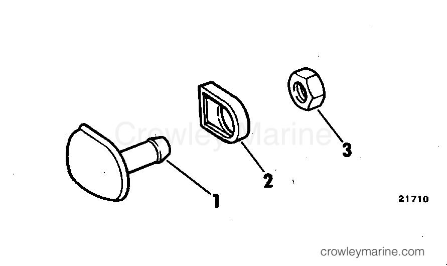 1978 Rigging Parts Accessories - Fuel System - FUEL TANK VENT KIT