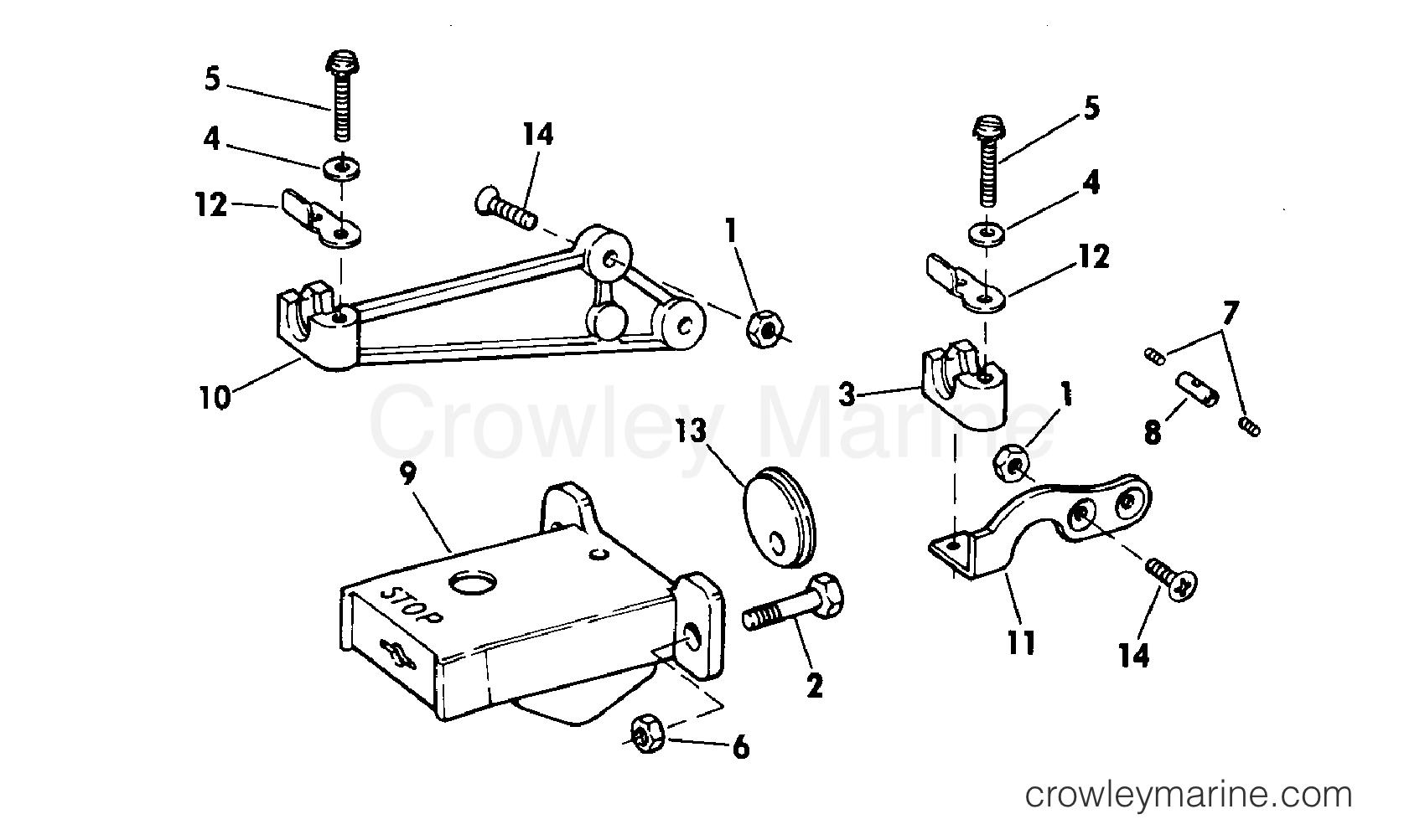 adapter kit-remote control 9 9  u0026 15 hp