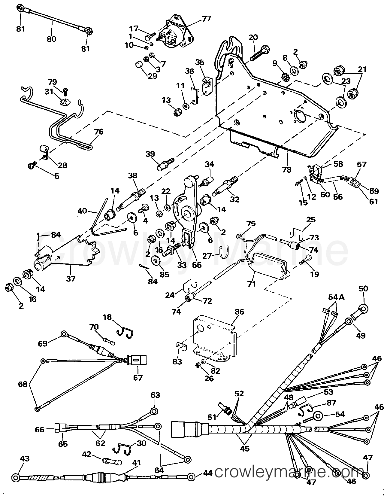 1987 omc wiring diagram