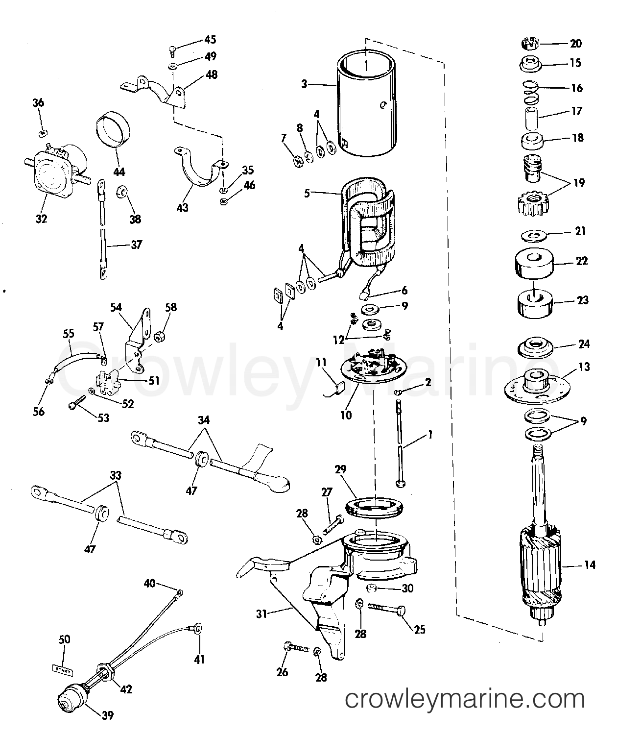 mercury outboard control box parts diagram  u2022 wiring