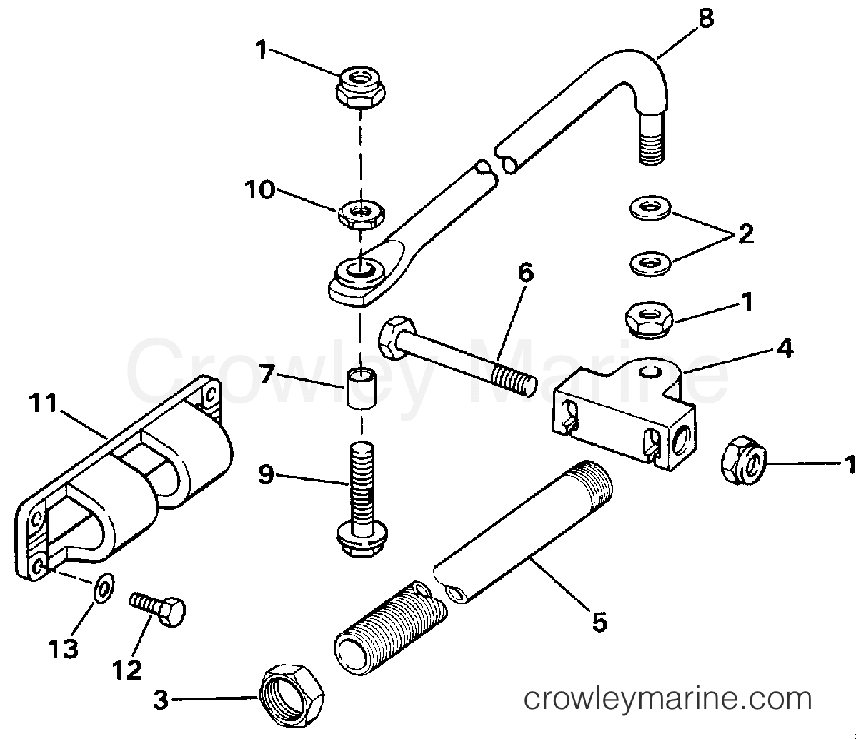 dual cable steering connector kit-parallel entry