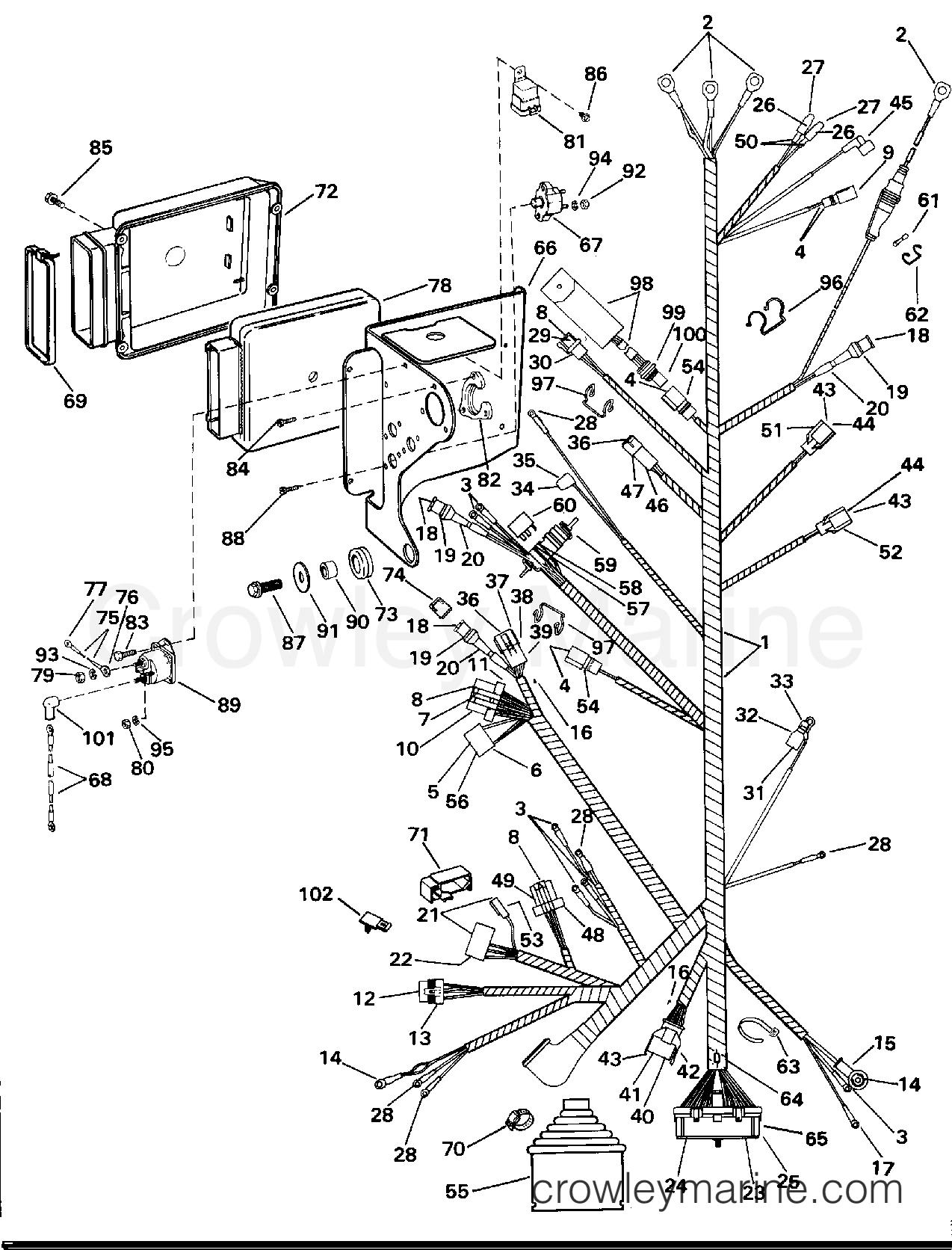 engine wire harness  u0026 bracket