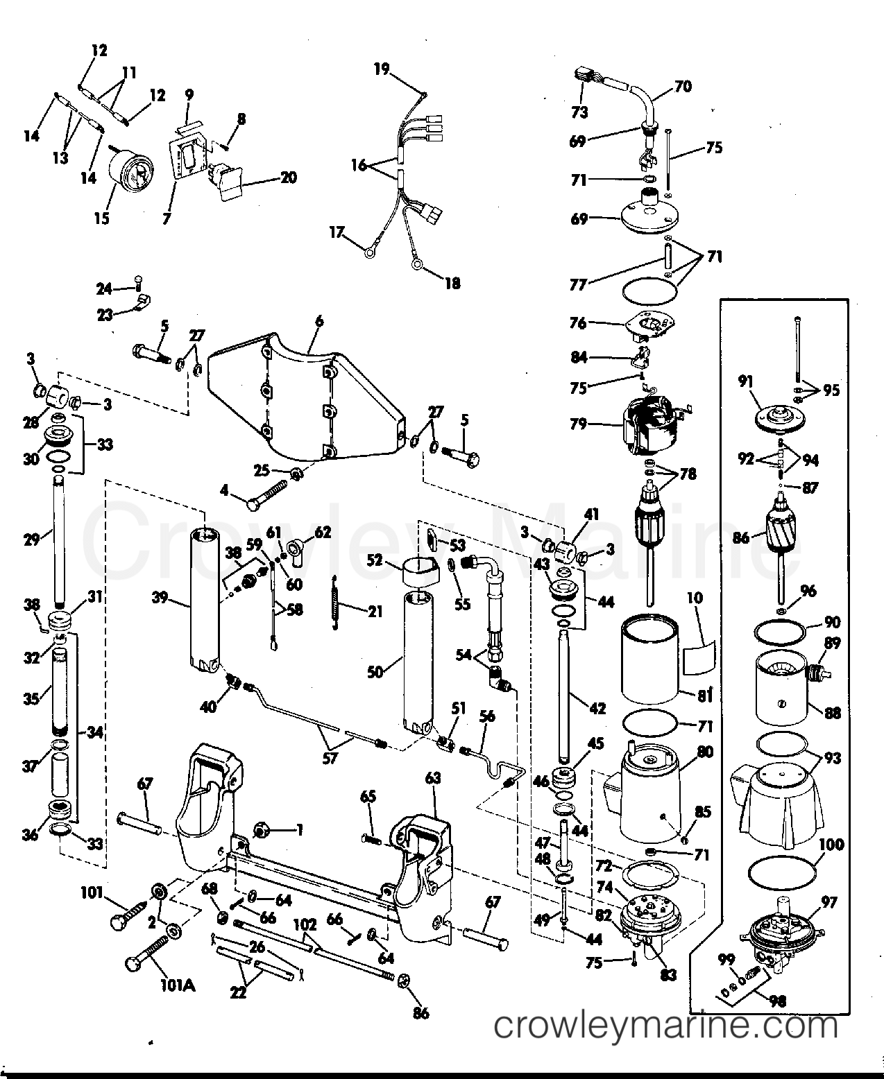 ZHXg1hom power tilt and trim 50 hp 1974 rigging parts accessories johnson outboard wiring diagram pdf at cos-gaming.co