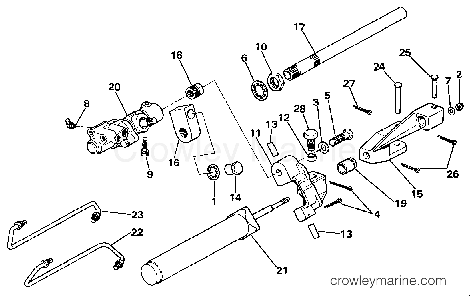 power steering cylinder