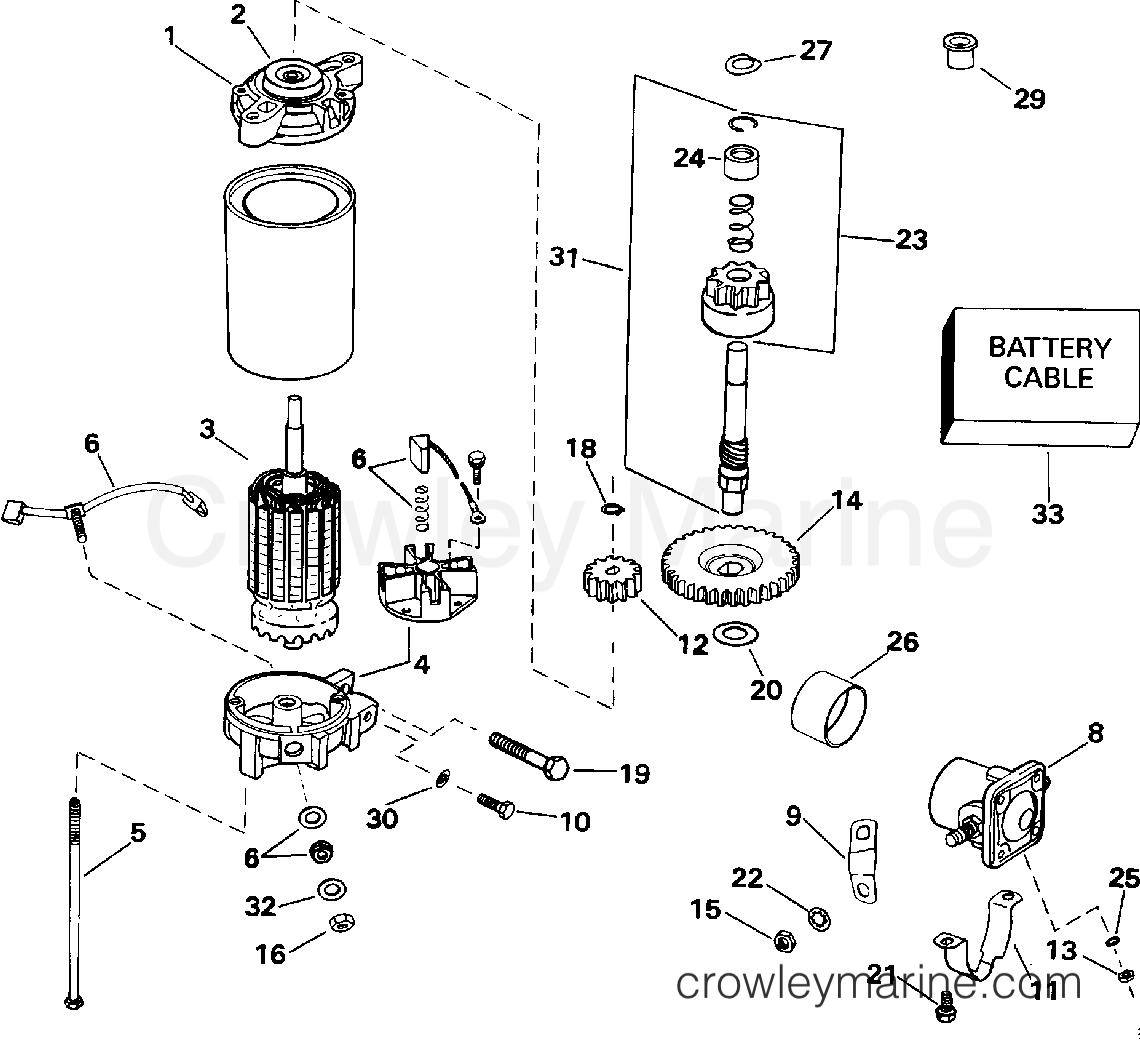 Electric Starter  U0026 Solenoid