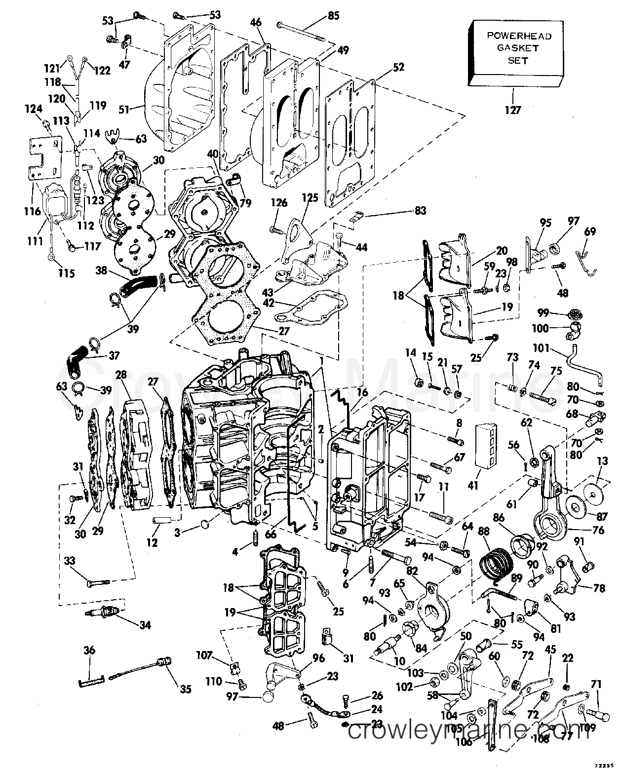 cyliner  u0026 crankcase