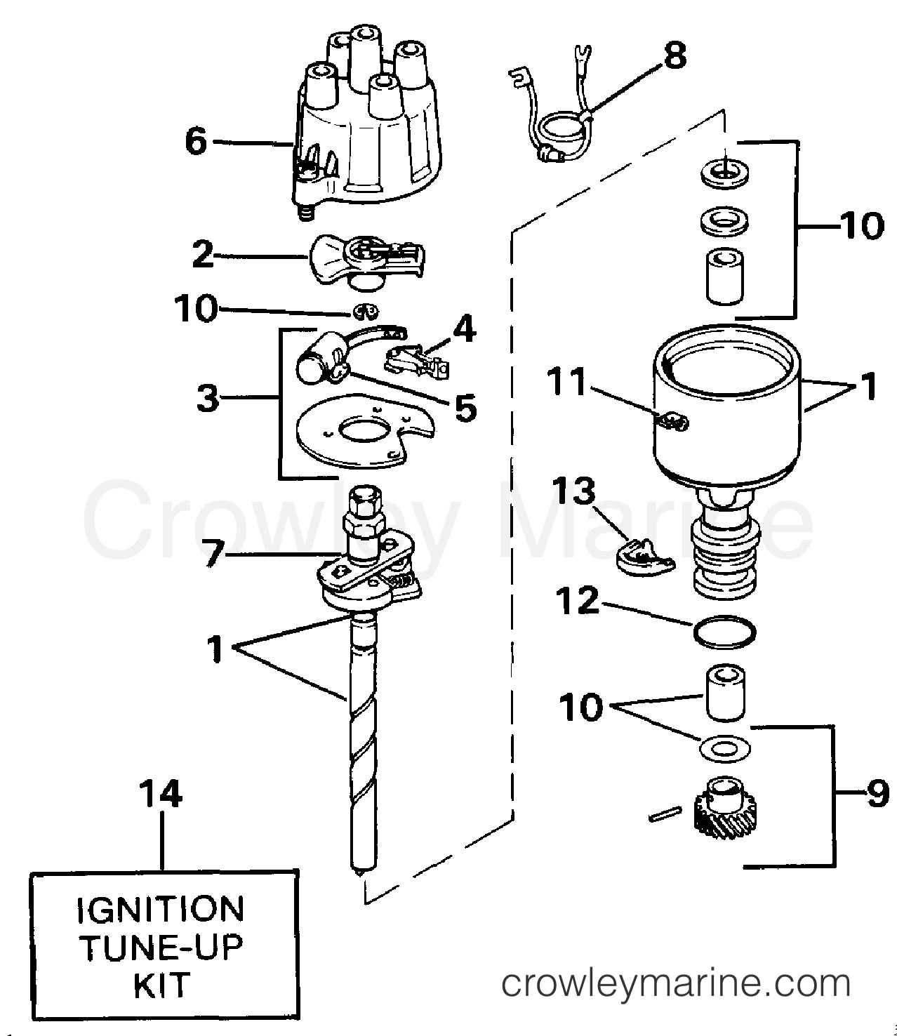 diagram of distributor wiring diagramdistributor parts diagram wiring diagram data nldistributor prestolite 1990 omc stern drive