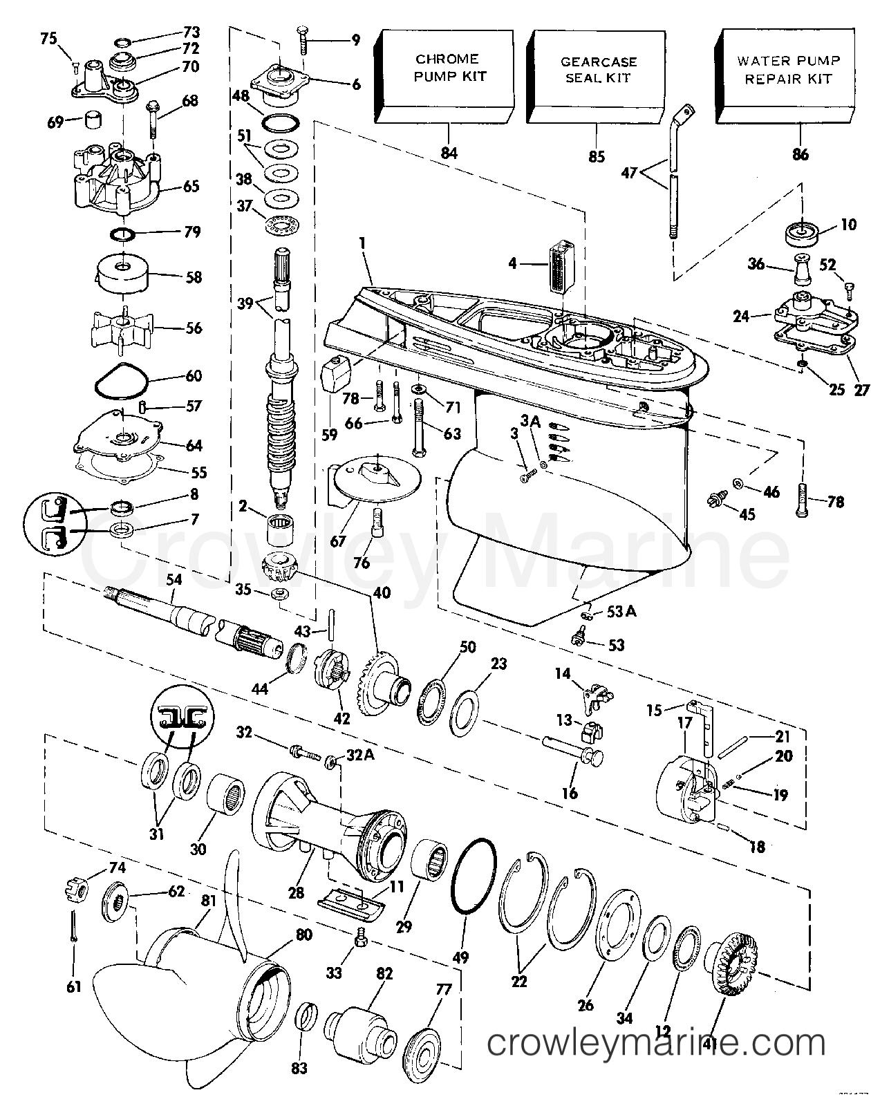 Gearcase - 120tl  U0026 Tx  140 Tl