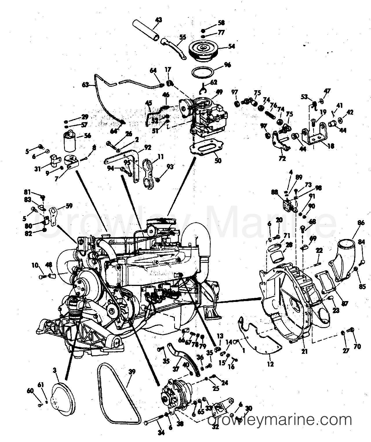 miscellaneous group 140 hp stern drive auto electrical wiring diagram Cole Hersee 7157 miscellaneous group 140 hp stern drive