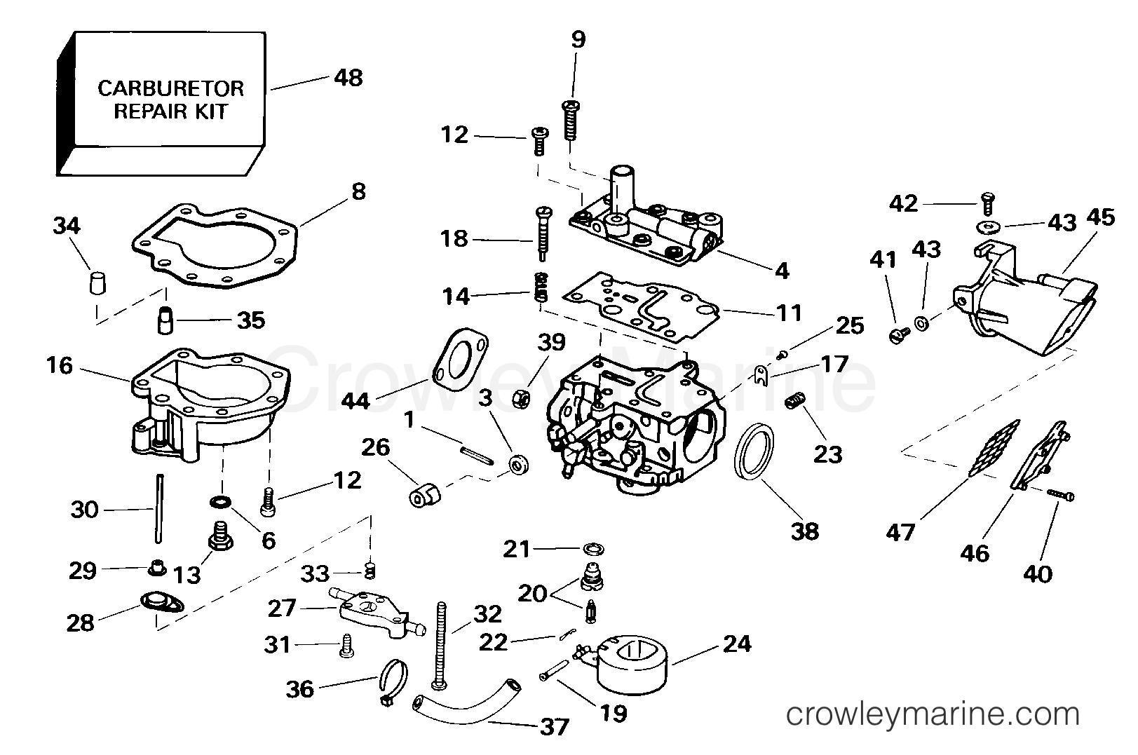 Carburetor -15 Hp