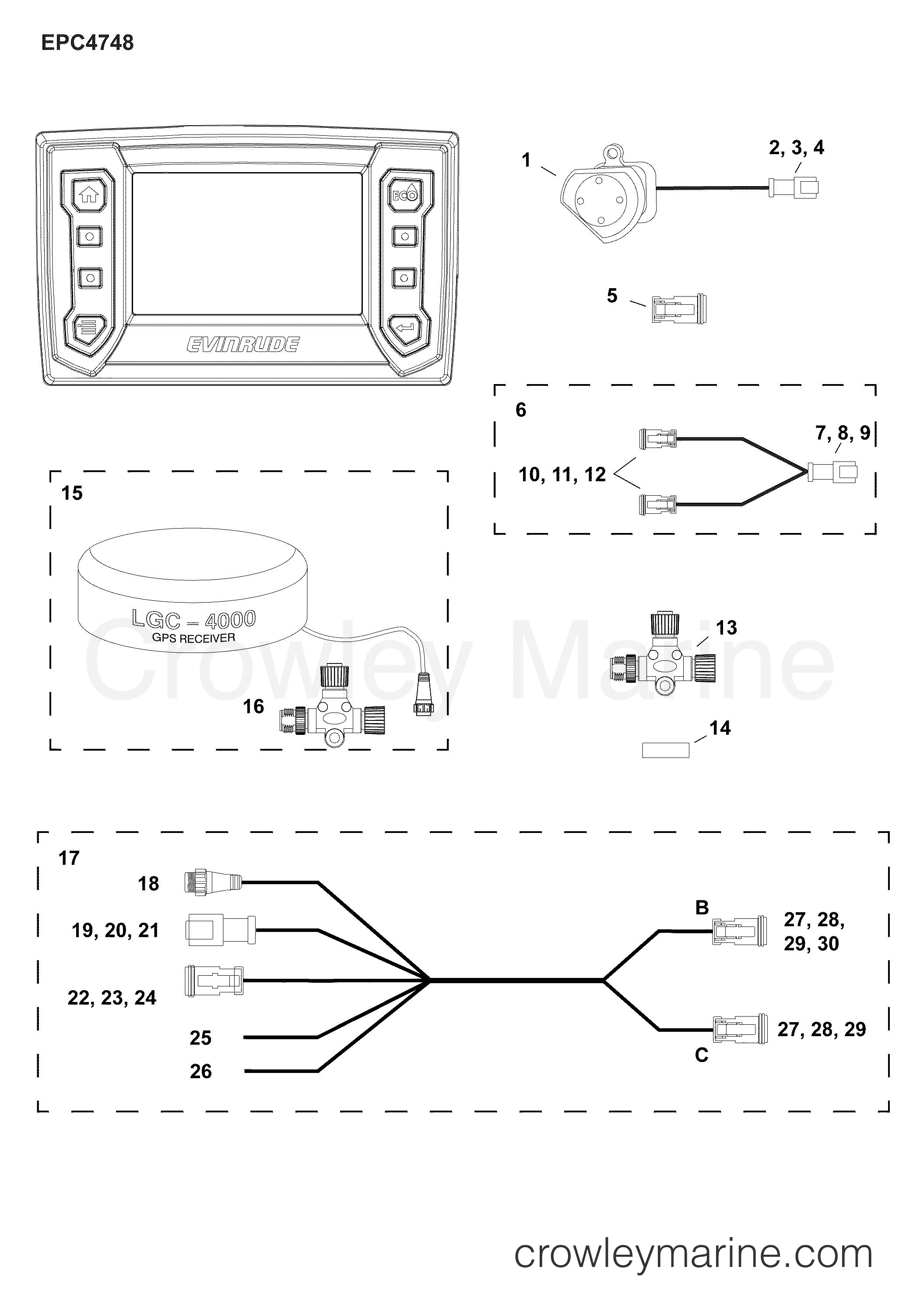 Wiring Diagram Evinrude 2015 E Tec 40 - Wiring Diagrams Place