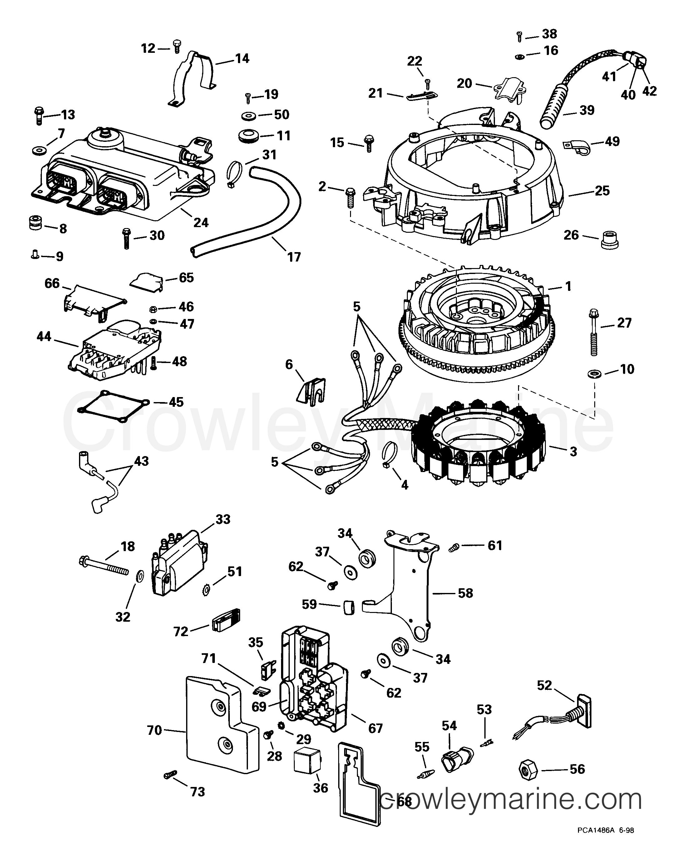1999 115 Evinrude Rectifier Wiring Diagrams    Wiring Diagram