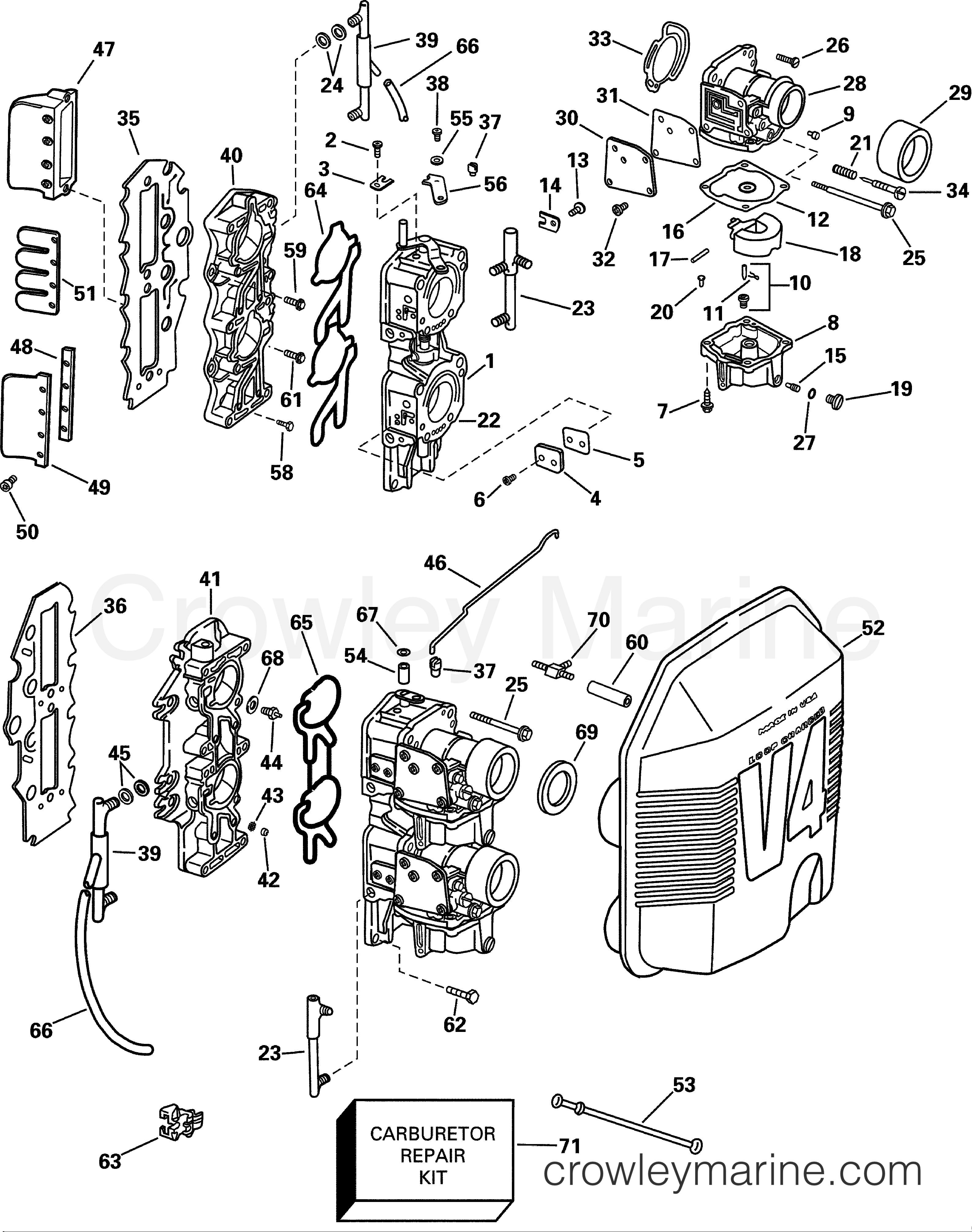 carburetor  u0026 intake manifold