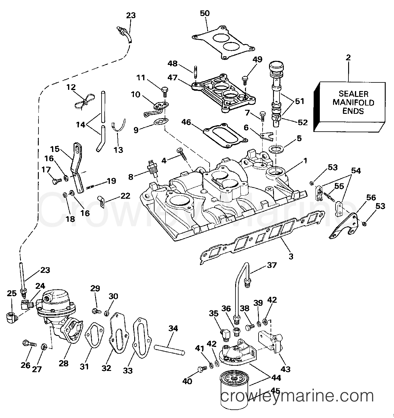 Omc Fuel Pump Diagram Wiring Schematics Stern Drive Page 4 And 1977