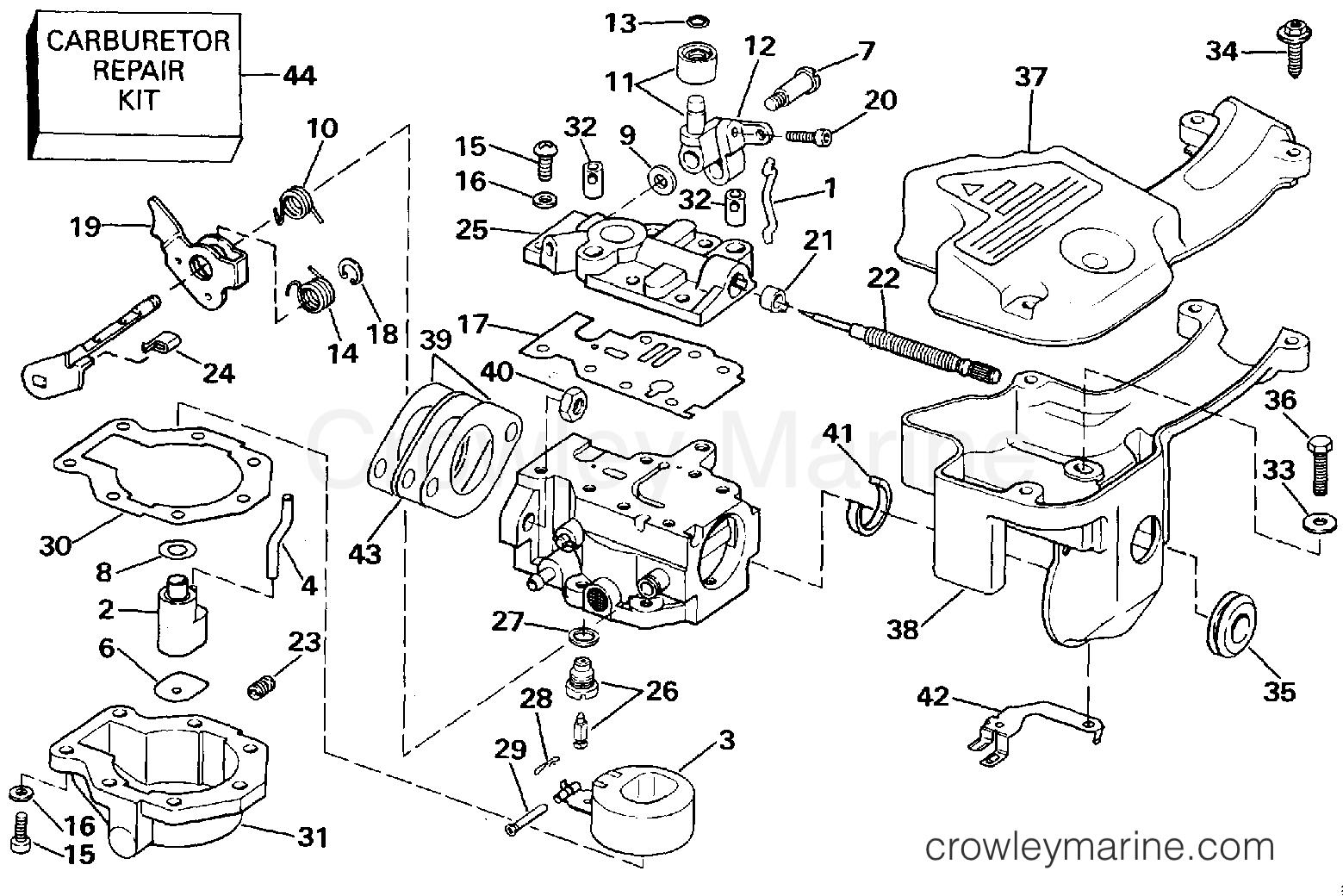 evinrude parts diagram smartdraw diagrams