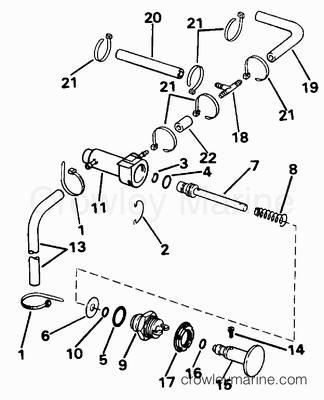 Johnson Fuel Pump U0026 Filter E70rnlib Only Parts For 1996 60hp1996