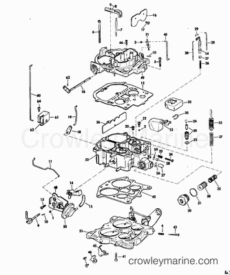 edelbrock carburetors identification  diagram  auto wiring