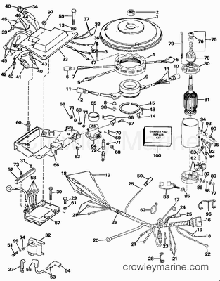 Johnson Evinrude Ignition Wiring Diagrams likewise Outboard Engine Wiring Diagram together with Johnson Tachometer Wiring Diagram additionally Wiring Diagram For Yamaha 703 Control furthermore Wiring Harness For 1949 Mercury. on ignition wiring diagram johnson outboard