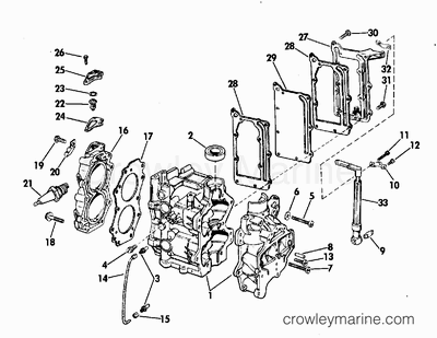 1973 evinrude outboards 6  6302s  - parts lookup