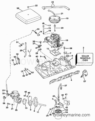Mechanical Steering Outboard Motor Diagram