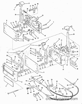 johnson outboard controls diagram with 9475 on 70 Hp Johnson Outboard Wiring Schematic likewise Ps Gauge Panel Install Pontoon Forum Get Help With Your 2 as well Parts also 9475 also YM676275.