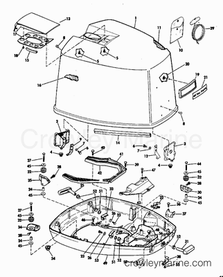 521 likewise Johnson Evinrude Ignition Key Switch additionally Evinrude Tilt And Trim Manual Release Valve additionally 70 Hp Mercury Outboard Motor further 412. on wiring diagram for 70 mercury outboard starter