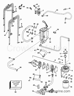 Evinrude Johnson Johnson Outboard Intake Manifold Diagram ... on