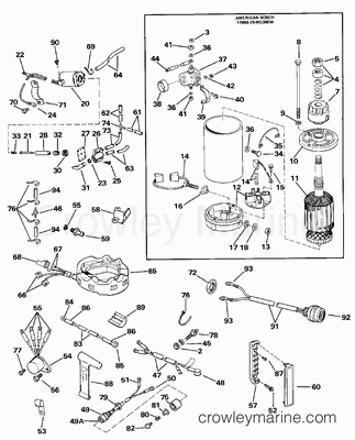 johnson outboard controls diagram with 5937 on 70 Hp Johnson Outboard Wiring Schematic likewise Ps Gauge Panel Install Pontoon Forum Get Help With Your 2 as well Parts also 9475 also YM676275.
