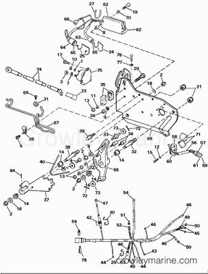 1989 omc stern drive 5 8  584aprmed