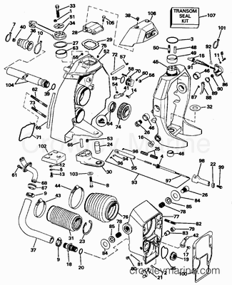Volvo Penta Parts Diagram