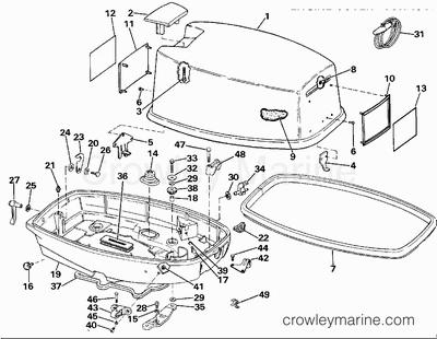 95 Hp Mercury Outboard Wiring Diagram