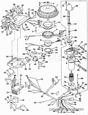 Evinrude Vro Wiring Diagram furthermore Wiring Diagram 1990 150 Johnson Outboard besides  on 50 hp johnson outboard power pack wiring diagram